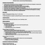 Sample Entry Level Accounting Resume by Best Senior Accountant Resume Sample U2013 Resume Template For Free