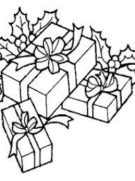 Coloriage gratuit à imprimer cadeaux de Noël sur Hugolescargotcom