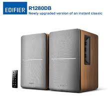 edifier r1280db wireless bluetooth speaker studio active bookshelf