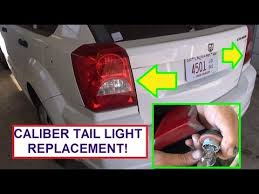 2008 dodge ram tail light bulb size how to replace rear tail light bulb dodge caliber stop turn signal
