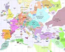 European Map by Europe Political Map 1400 U2022 Mapsof Net