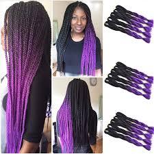 ombre kanekalon braiding hair 10 pcs cheap 100g grey ombre kanekalon braiding hair two tone