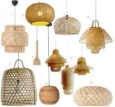 luminaire cuisine pas cher le bambou et suspension dans la décoration clemaroundthecorner