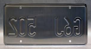 twister dodge ram twister bill paxton u0027s dodge g6j 502 embossed vanity license plate