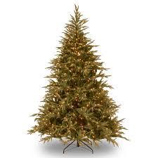 national tree pre lit 7 1 2 feel real frasier grande hinged