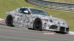 toyota supra interior toyota supra interior looking more production in latest sighting