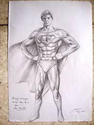 superman sketch by ianrialdi on deviantart