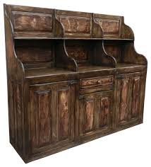 Reclaimed Sideboard Antique Bar Keeping Chest Buffet Server Hand Made Reclaimed Wood
