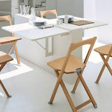 table console pour cuisine table gain de place 55 idées pliantes rabattables ou gigogne