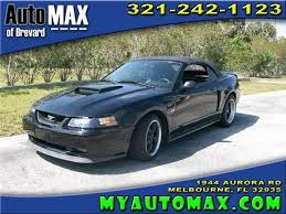 2003 Black Mustang Ford Mustang Gt Aurora 15 Black Ford Mustang Gt Used Cars In