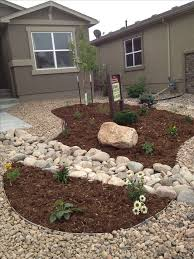 Lawn Free Backyard Front Yard Xeriscape Replace Gravel With Grass Just Maybe