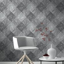 rasch wallpaper rasch marble tile pattern wallpaper realistic faux effect metallic