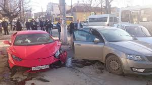 crashed lamborghini huracan lamborghini huracan crash in russia 1920x1080 more in comments