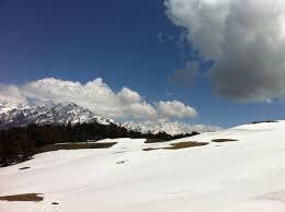 india travel camp in the thar desert trek in snow