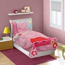 Peppa Pig Toddler Bed Set N A Baby Blanket