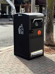 Household Trash Compactor Solar Trash Compactors Installed In Montclair Business District