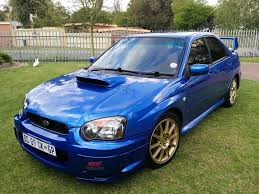 blue subaru gold rims from south africa my subaru 2005 impreza wrx sti scoobynet com