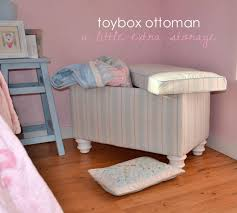 ana white upholstered toybox ottoman diy projects