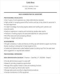 sales assistant resume sales assistant resume templates 7 free word pdf format