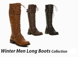 winter long boots collection for men boys winter footwear