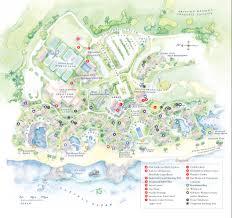 Map Of Hawaii Big Island Resort Map
