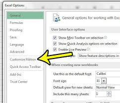 how to show the developer tab in excel 2013 live2tech