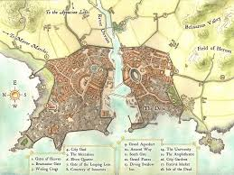 Map Writer A Quick Map Of The City Of Northgate Ruling City In The Landing