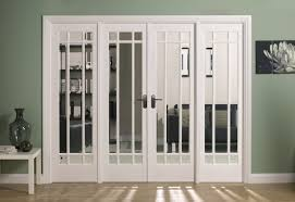 wooden glass sliding doors frosted glass room partition with white wooden frames connected by