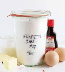 homemade funfetti cake mix i am baker