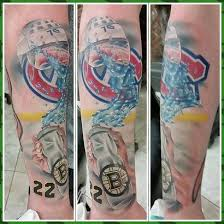 bruins fan gets an absurdly embarrassing thornton tribute tattoo