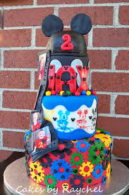 my creative way amazing mickey mouse 3 tier fondant cake oh