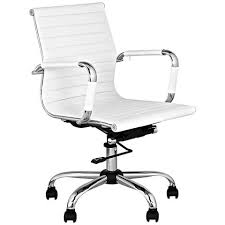 White Fluffy Desk Chair Chairs Stylish Looks For The Home Office And More Lamps Plus