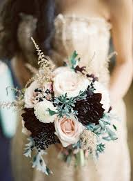 Autumn Wedding Flowers - 15 perfect fall wedding bouquet ideas for autumn brides pink