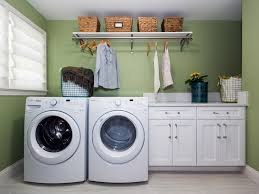 Small Laundry Room Decor by Laundry Room Cabinets Blue Laundry Room Features A Beadboard