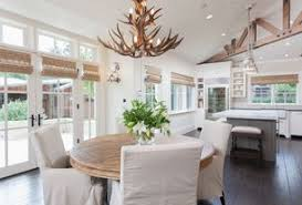 Cottage Dining Room French Doors Design Ideas  Pictures Zillow - Dining room with french doors