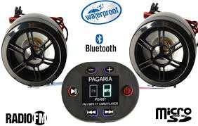 pagaria bike mp3 player with bluetooth u0026 fm radio bike stereo