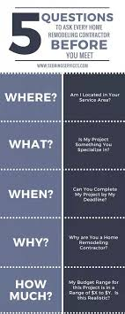 home remodeling articles 5 questions to ask every home remodeling contractor before you meet