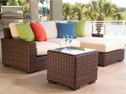 White Resin Wicker Patio Furniture - patio 40 wicker furniture wicker outdoor tables gray wicker