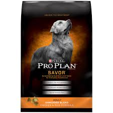 pro plan savor shredded blend chicken u0026 rice dog food petco