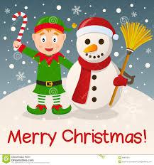 elf christmas card christmas lights decoration