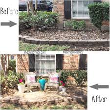 In Front Yard - front yard sitting area before and after frontyard pinterest