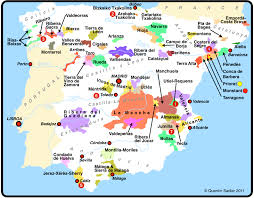 The Map Of Spain by The Diversity Of Spain U2013 Hidden Gems U0026 Old Friends Quentin