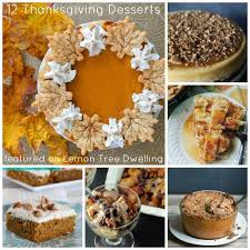 12 delicious thanksgiving desserts lemon tree dwelling