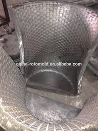 flower pot sale texture aluminum rotational flower pot mould and roto planter