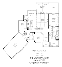 crenshaw park house plan house plans by garrell associates inc