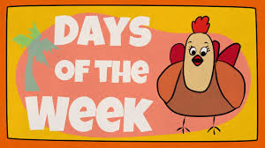 days of the week song the singing walrus youtube