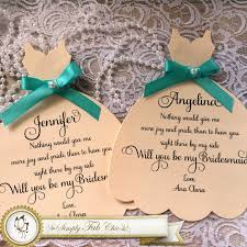 bridesmaid invitation simply fab chic will you be my bridesmaid