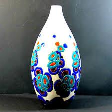 Deco Vase Charles Catteau Boch Frères Art Deco Vase Cornershop Design