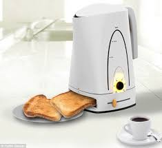 See Thru Toaster Baking Pot U0027 Kettle Toaster Makes Toast And Brews Coffee All At The