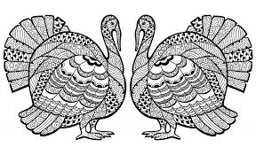 95 free printable turkey coloring page for or adults